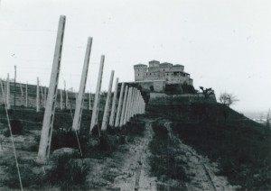 Vista del castello di Torrechiara
